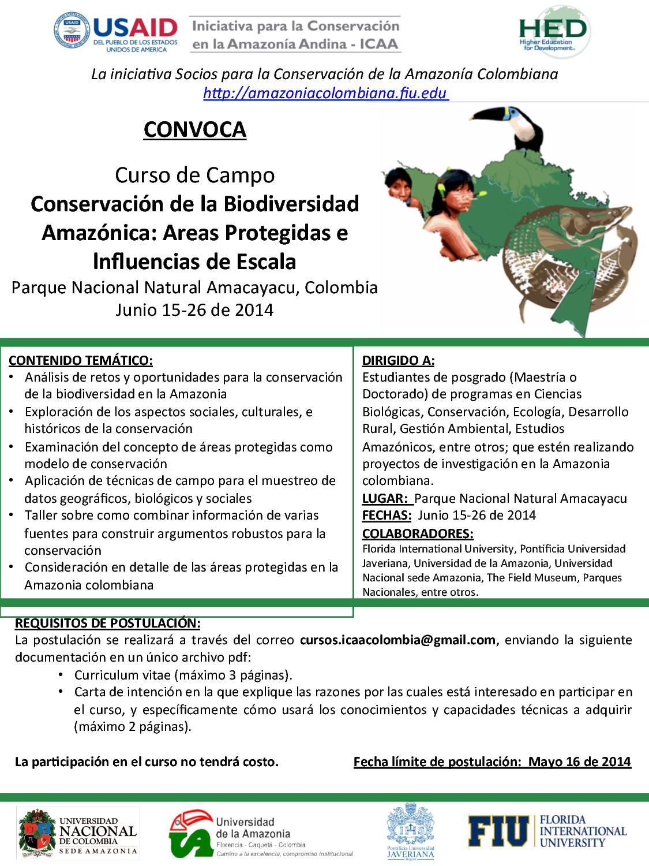 nuncio_CursodeCampo_AreasProtegidas_Amazonia_20142
